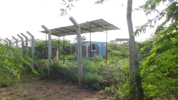 REA solar powered borehole Garissa