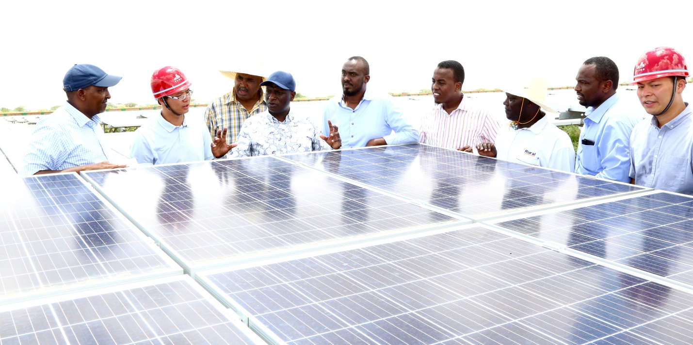 The 55 MW Garissa Solar Power Plant